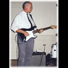 The 1998 Anniversary Party Glenn on Lead Guitar