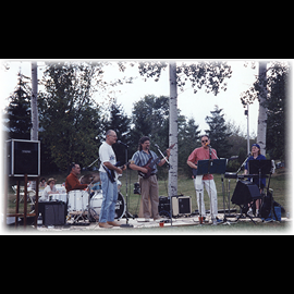 Ahh, Playing in the Great Canadian Outdoors!